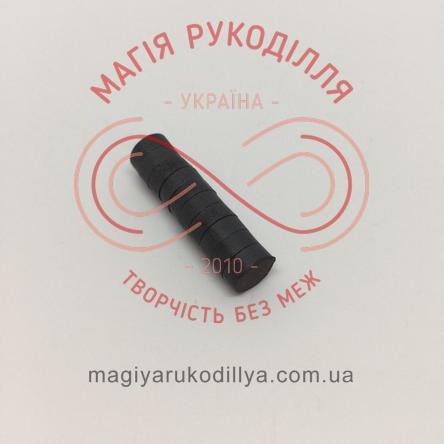 Магніт феритовий d8мм h3мм - чорний