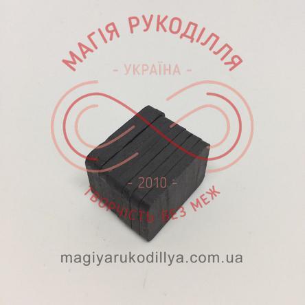 Магніт феритовий 30мм*20мм*3мм - чорний