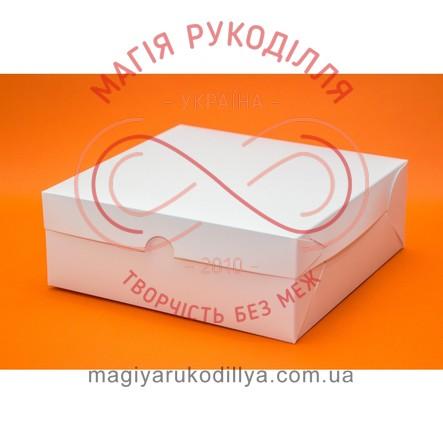 Кондитерська/подарункова коробка 12 кексів 354*241*90 - білий