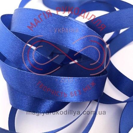 Стрічка Peri атласна 51мм (Китай) - №177 відтінки синього
