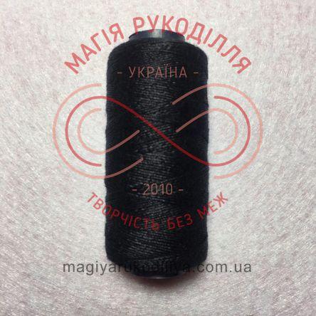 Нитка для ручного шиття №10 - чорний