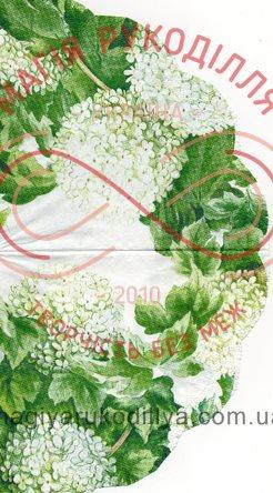 Декупажна серветка квіти 30см*33см