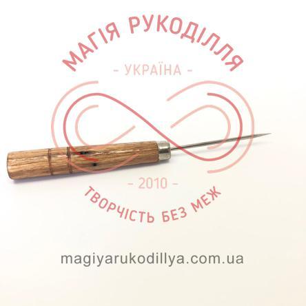 Шило мале, дерев'яна ручка