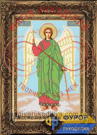 Схема для вишивання бісером ікона - ИБ4-002 Ангел Охоронець