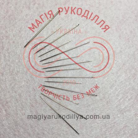 Голки для ручного шиття Китай набір - круглий органайзер