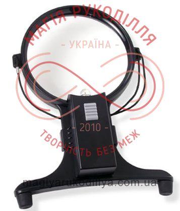 Перхоть на шею с подсветкой d11,5см - кратность увеличения в 3 раза
