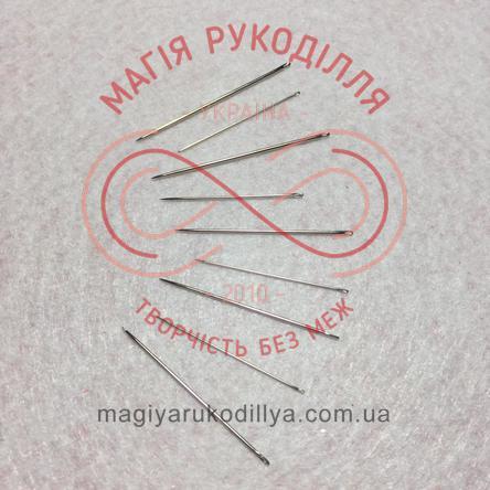 Голка для ручного шиття Hemline (Австралія) - 208.510 (розміри 5-10)
