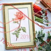 Набір для вишивання хрестиком - П6-019/Р Чайна троянда