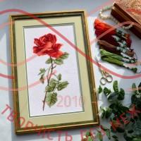 Набір для вишивання хрестиком - П6-008/Р Червона троянда