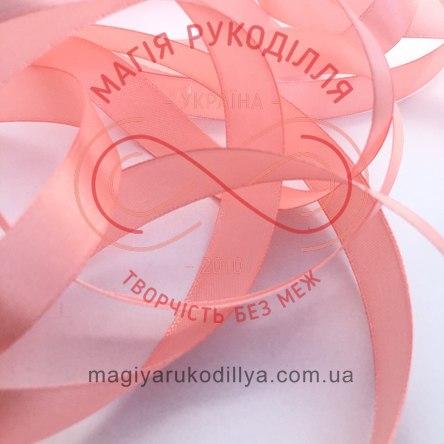 Стрічка Peri атласна 16мм (Китай) - №045  відтінки рожевого неонового