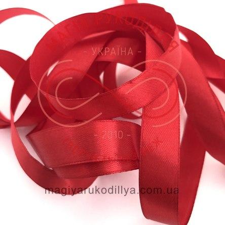 Стрічка Peri атласна 16мм (Китай) - №081  відтінки червоного