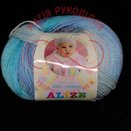 Пряжа Baby Wool Batik (Alize Туреччина) - 3564