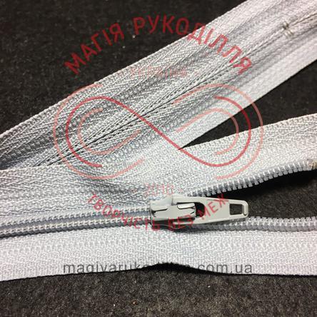 Блискавка брючна YKK 20см (тип 5) - відтінки сірого