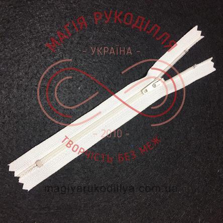 Блискавка брючна YKK 15см (тип 5) - екрю