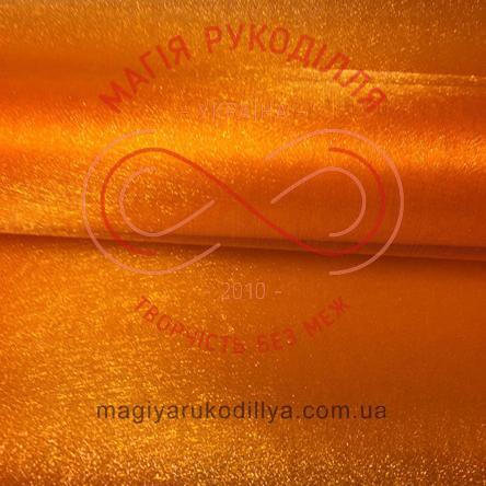 Флористична органза - помаранчевий