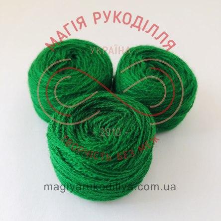 Нитка акрилова для вишивання - №181/537 відтінки зеленого