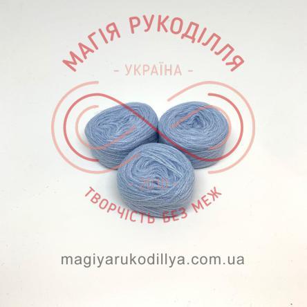 Нитка акрилова для вишивання - №187/301 відтінки блакитного