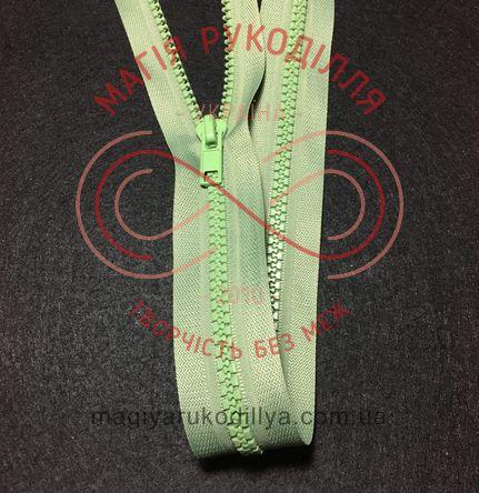 Блискавка тракторна роз'ємна (Китай) 85см (тип 5) - відтінки салатового