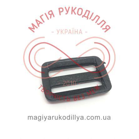 Обмежувач пластиковий із перетинкою 3,5см*2,5см - чорний