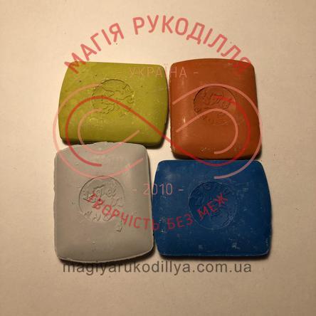 Кравецька крейда прямокутна маленька упаковка 10шт - кольорова