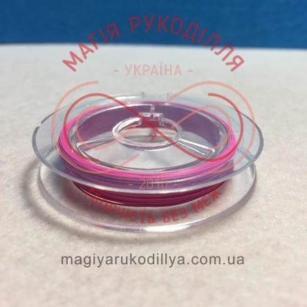 Біжутерний дріт мідний Margo d0,27-0,35мм/10м - рожевий