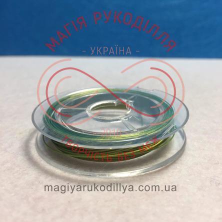 Біжутерний дріт мідний Margo d0,27-0,35мм/10м - оливковий