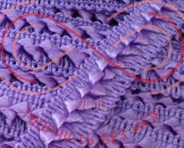 Тесьма самоса атласна шир.17мм - фіолетовий