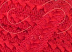 Тесьма самоса атласна шир.17мм - червоний