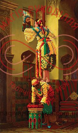 Схема для вишивання бісером картина атлас (АртЛар) - БИС-8614(286)