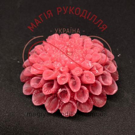 Свічка жоржина d8,0см - рожевий
