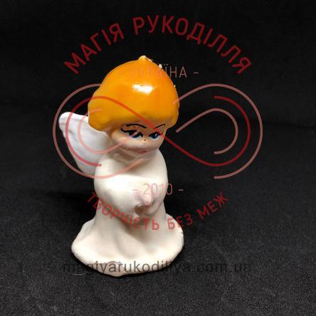 Свічка ангелятко h9,5см - білий