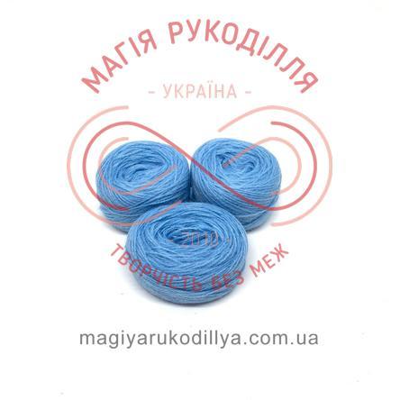 Нитка акрилова для вишивання - №094/333 відтінки блакитного