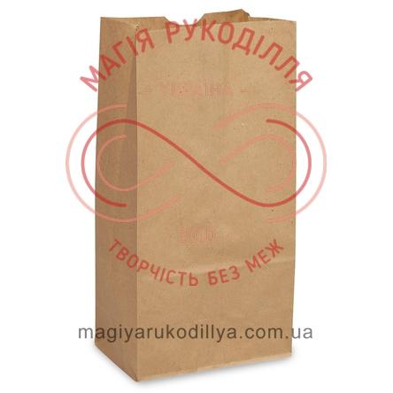Пакет паперовий крафт 120*85*250