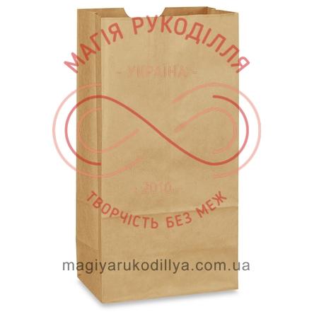 Пакет паперовий крафт 210*115*280