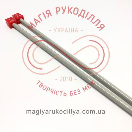 Спиці прямі тефлонове покриття (набір 2шт.) 5,0/35см
