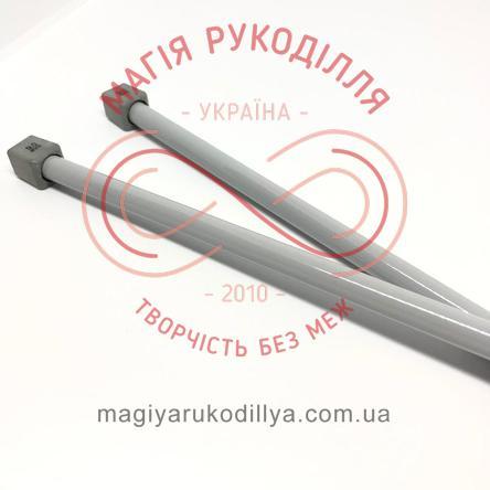 Спиці прямі тефлонове покриття (набір 2шт.) 9,0/35см