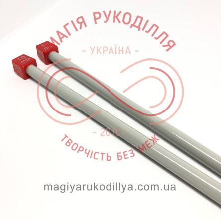 Спиці прямі тефлонове покриття (набір 2шт.) 10,0/35см