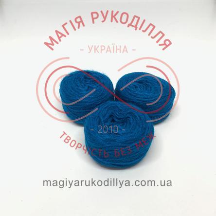 Нить акриловая для вышивания - №147 / 304 оттенки бирюзового