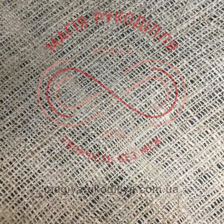 Тканина для декору мішковина 250 льон натуральна шир. 1,05м (Україна)