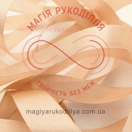 Стрічка Peri атласна 38мм (Китай) - №015 відтінки бежевого