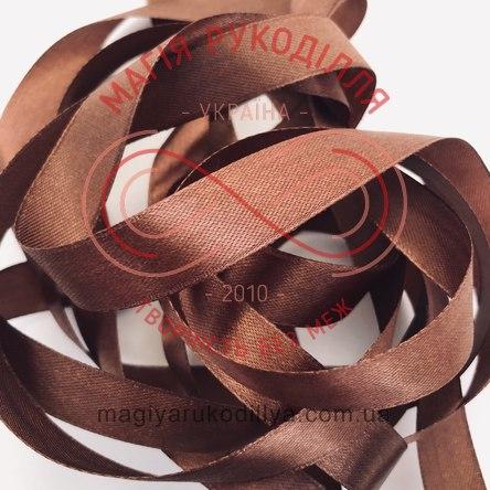 Стрічка Peri атласна 38мм (Китай) - №184 відтінки коричневого