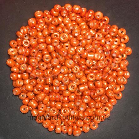 Бісер Китай 12/50грам - №009 світлий коричневий перлистий