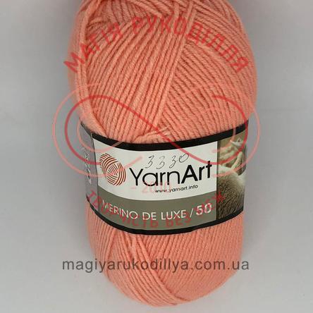 Пряжа Merino de Luxe 50 (YarnArt Турция) - 565